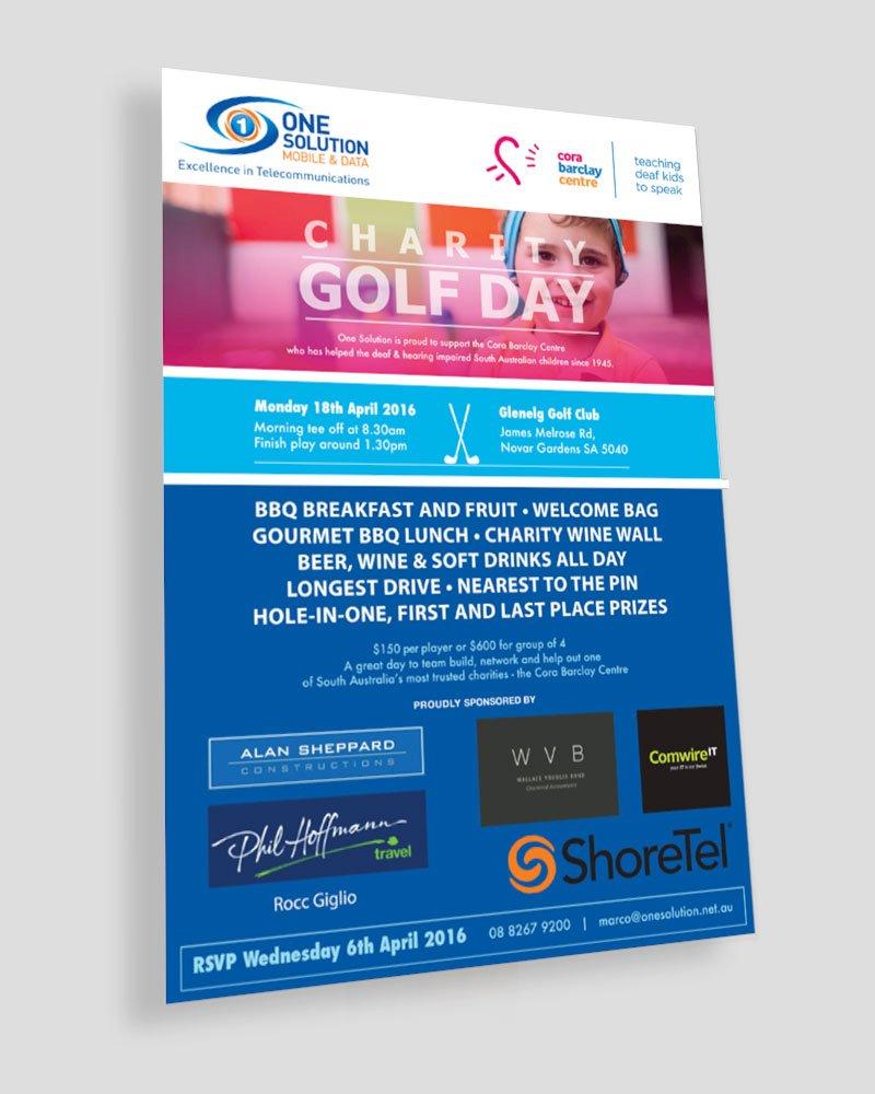 Charity Golf Day Brochure