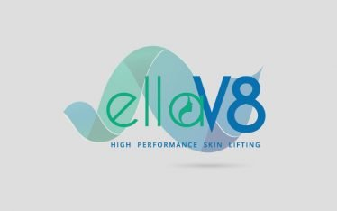 elleV8 logo design by G2
