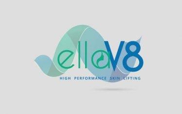 elleV8 logo design by G2